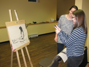 Adult art club Nov 2014